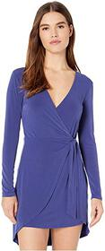 BCBGeneration Cocktail Side Tie Wrap Knit Dress YD