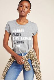 Anthropologie Sol Angeles Cities Graphic Tee