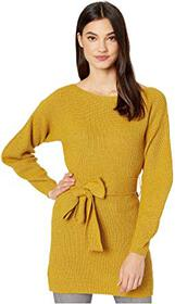 BCBGMAXAZRIA Boatneck Long Sleeve Pullover Sweater