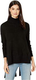 BCBGMAXAZRIA Mock Long Sleeve Pullover Sweater