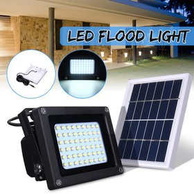 Solar Powered 54LED Dusk-to-Dawn Sensor Lighting W