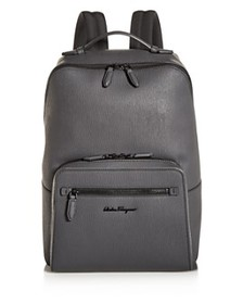 Salvatore Ferragamo - Revival Coated Leather Backp
