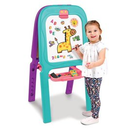 Crayola Purple & Turquoise 3-in-1 Double Easel Wit