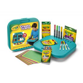 Crayola Create And Carry Storage Case And Lap Desk