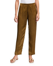 Forte Forte Chic Crepe Pants with Elastic Waist