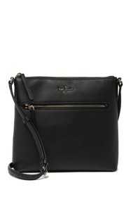 kate spade new york jackson top zip leather crossb