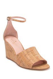 kate spade new york lizzy leather wedge