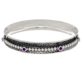 """""""As Is"""" Or Paz Sterling Silver 36.0g Beaded Gemsto"""
