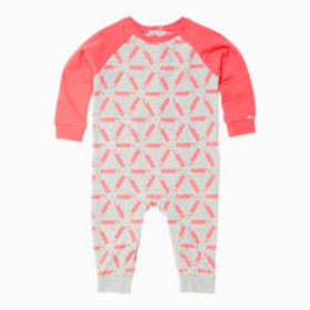 Puma Infant Fleece AOP Coverall
