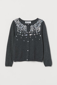 Cardigan with Sequins