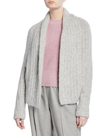 Vince Textured Shawl Cardigan