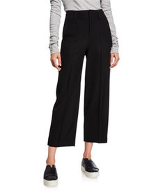 Vince Straight-Leg Cropped Pants