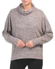 Reveal Designer Cowl Neck Pullover Sweater