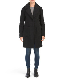 FRENCH CONNECTION Woobie Reefer Coat