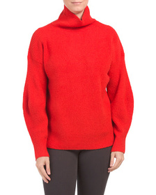 FRENCH CONNECTION High Neck Ribbed Cozy Sweater
