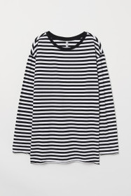 Oversized Jersey Top
