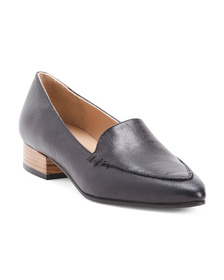 AVELLINI Made In Italy Leather Loafers