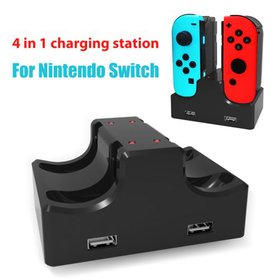 TSV Joy Con Charger for Nintendo Switch 4 in 1 Cha