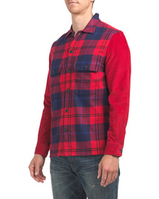 FRENCH CONNECTION Arusha Flannel Checkered Shirt