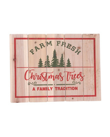 SLEIGH HILL TRADING CO. 24in Christmas Tree Wall D