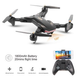 VISUO XS809S RC Drone with Camera 720P Wifi FPV Dr on sale at Walmart