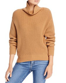 FRENCH CONNECTION - Oversized Cotton Turtleneck Sw