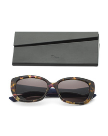 DIOR Made In Italy 55mm Cat Eye Designer Sunglasse