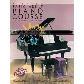 Alfred's Basic Adult Piano Course Lesson Book, Bk
