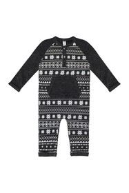 Petit Lem Knit Playsuit (Baby Boys)