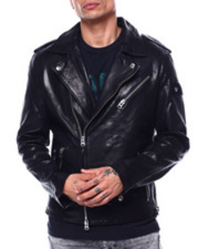 True Religion biker rebel leather jacket