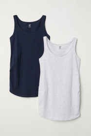 MAMA 2-pack Jersey Tank Tops