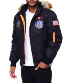 Buyers Picks ma1 snorkel fur hood and patches