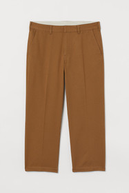 Ankle-length Cotton Chinos