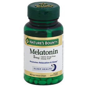 Nature's Bounty Super Strength Melatonin 5 mg Diet
