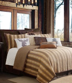 HiEnd Accents Hill Country Reversible Quilt Mini S