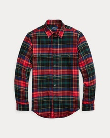 Polo Ralph Lauren Classic Fit Plaid Twill Shirt