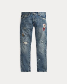 Polo Ralph Lauren Sullivan Slim Distressed Jean