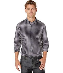 Ben Sherman Long Sleeve Brushed Mini Check Shirt