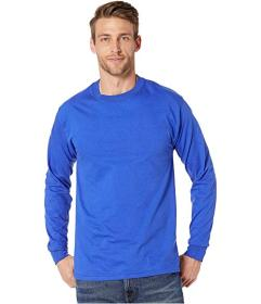 Hanes Beefy-T Crew Neck Long Sleeve T-Shirt