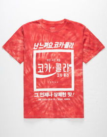 NEON RIOT Coca Cola Korea Mens T-Shirt_
