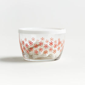 Crate Barrel NewHoliday Lidded Bowl