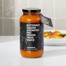 Crate Barrel Butternut Squash and Roasted Red Pepp