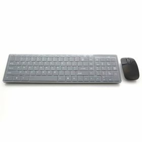 06 2.4G Wireless Mouse and Keyboard Set Black