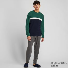 MEN ULTRA STRETCH LONG-SLEEVE SWEAT SET (ONLINE EX