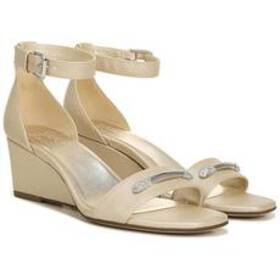 Womens Naturalizer Zenia PU Leather Wedge Sandals