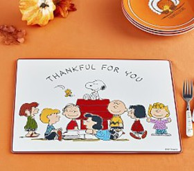 Pottery Barn Peanuts® Thanksgiving Placemat