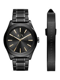Armani Exchange Nico Stainless Steel Bracelet Watc