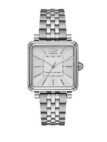 Marc Jacobs Vic Stainless Steel Bracelet Watch SIL
