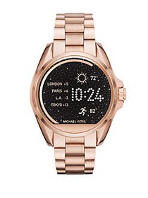 Michael Kors Bradshaw Rose Goldtone Stainless Stee