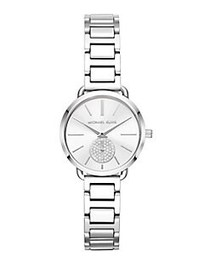 Michael Kors Portia Stainless Steel Bracelet Watch